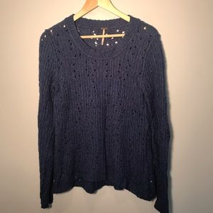⚡️3 for $30 Free People Blue sweater